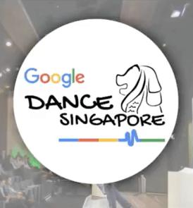 google_dance_singaporeのロゴ