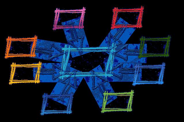 内部リンク構造を表している